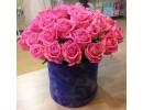 Розы в коробке с доставкой по Пятигорску