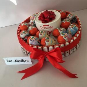 Торт из киндеров 04