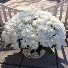Корзина цветов 09