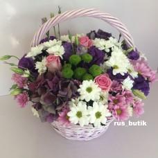 Корзина цветов 01
