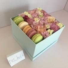 Макаруны с цветами 01