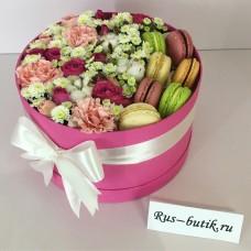Макаруны с цветами 10