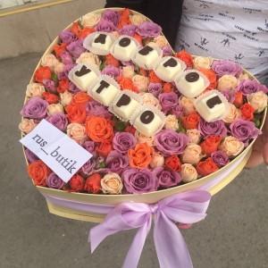 Макаруны с цветами 05