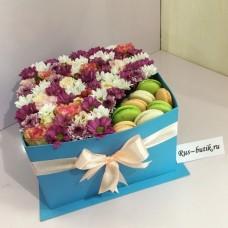 Макаруны с цветами 07