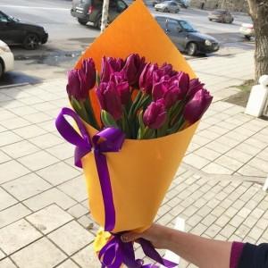 Букет тюльпанов 08
