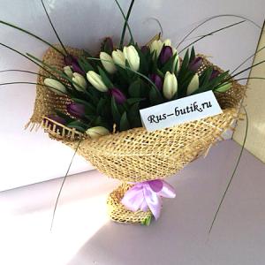 Букет тюльпанов 04